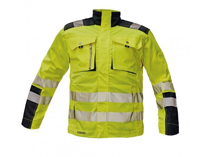 Reflexní bunda ALLYN HV žlutá