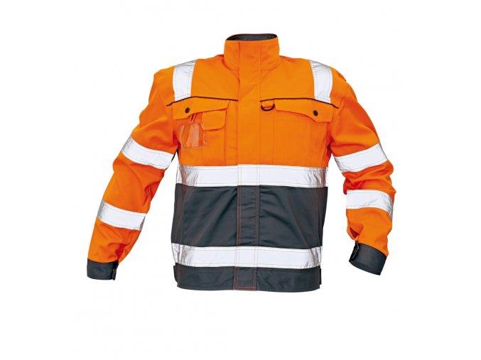 Reflexní bunda COLYTON oranžová