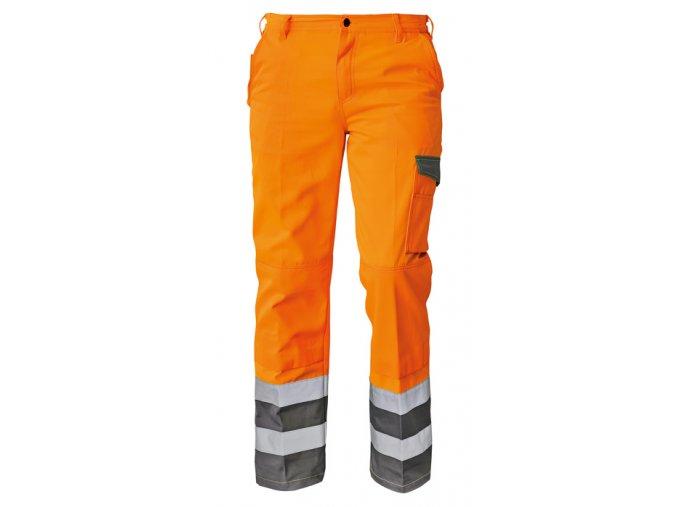 Kalhoty do pasu reflexní COLYTON NEW oranžová