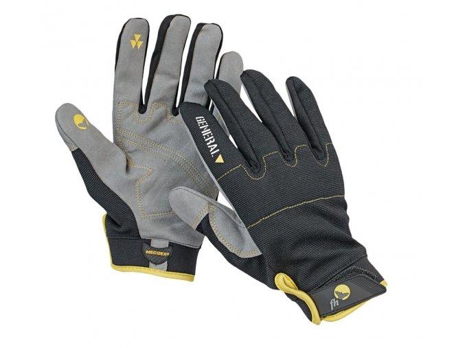 Pracovní rukavice kombinované EPOPS černá-šedá