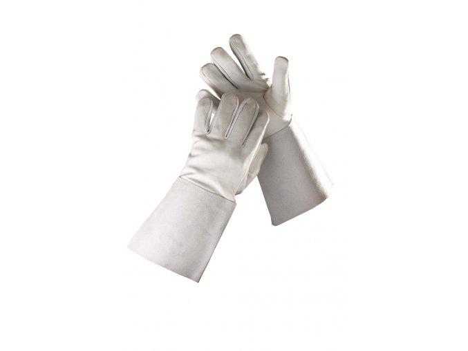 Pracovní rukavice celokožené svářečské typ B SANDERLING WELDER šedá