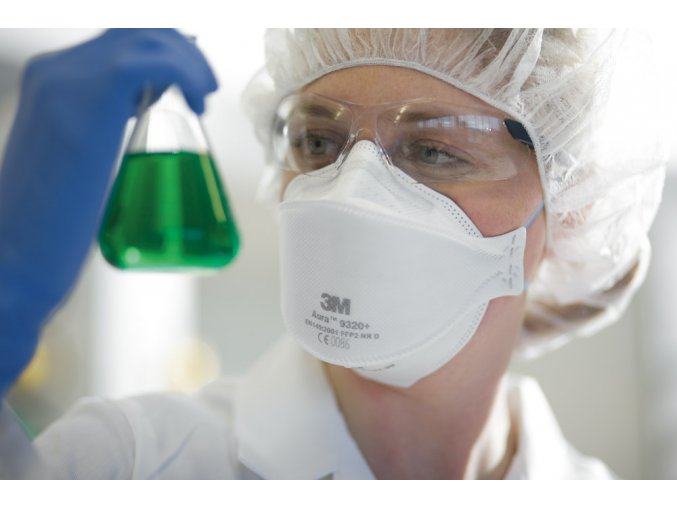 Filtrační polomaska (respirátor) 3M FFP2 9320