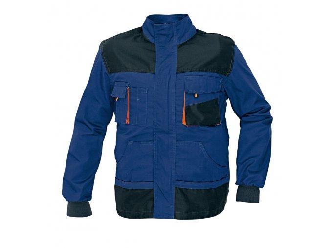 Montérková bunda EMERTON modrá/oranžová