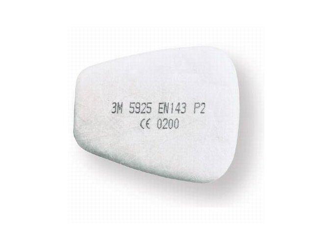 Prachový filtr P2 5925 k polomasce řady 6000