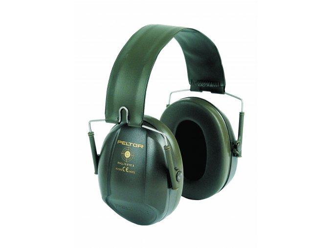 Mušlový chránič sluchu PELTOR H515FB-516-GN, BULL´S EYE I
