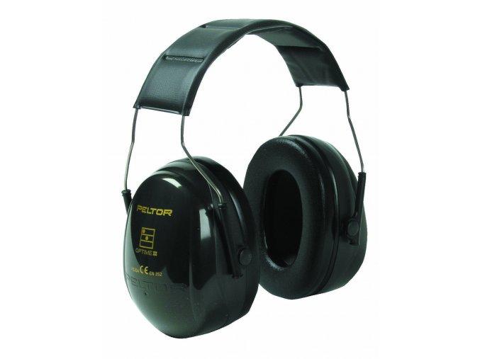 Mušlový chránič sluchu PELTOR H520A-407-GQ OPTIME II