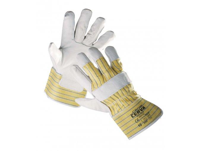 Pracovní rukavice kombinované CROW