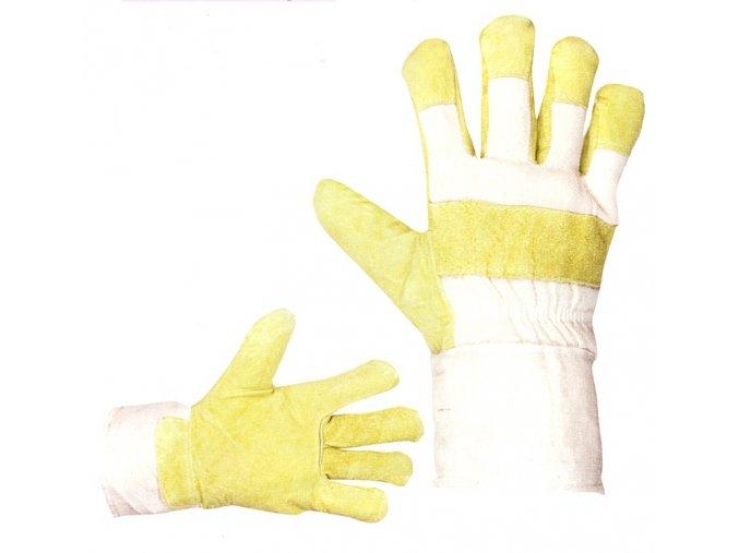 Pracovní rukavice kombinované zimní SHAG