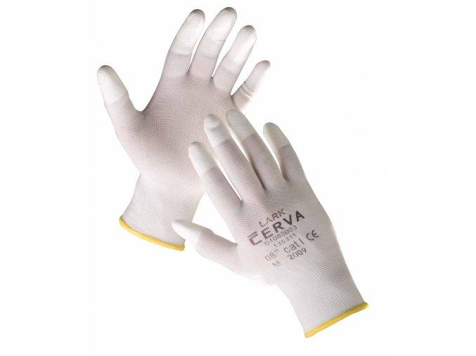 Pracovní rukavice pletené máčené LARK