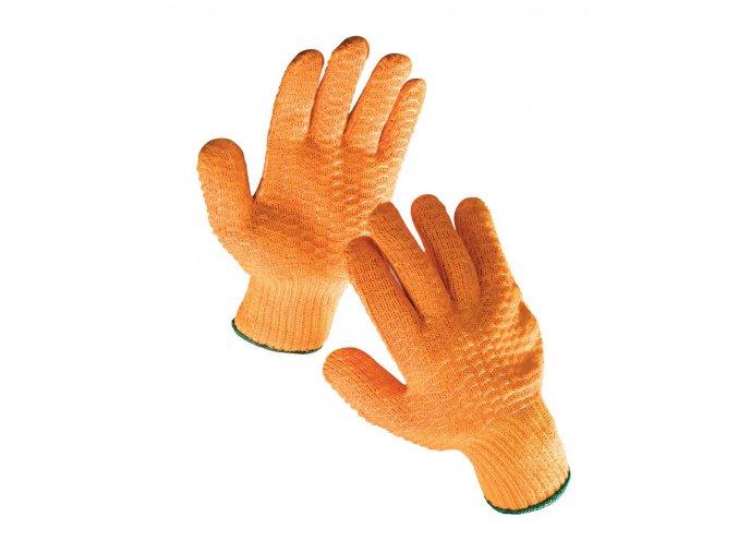 Pracovní rukavice pletené povrstvené FALCON