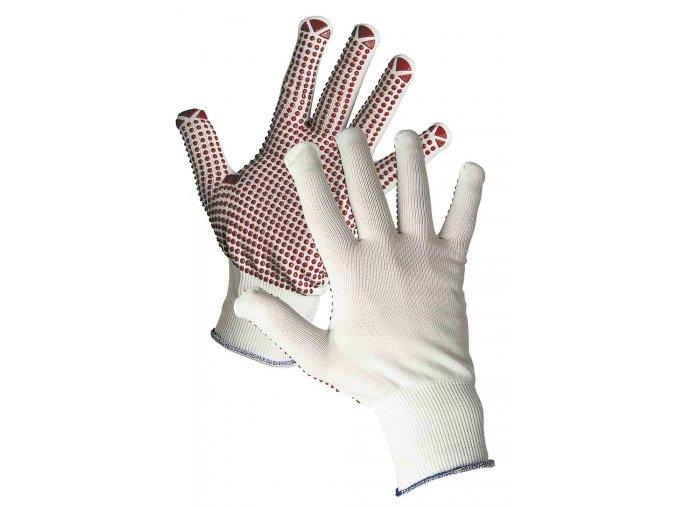 Pracovní rukavice pletené povrstvené GANNET