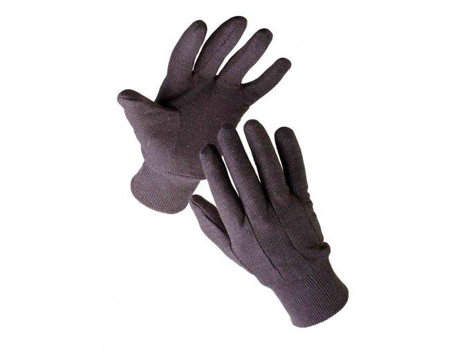 Pracovní rukavice textilní šité FINCH