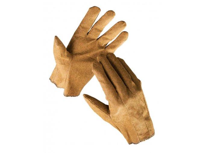 Pracovní rukavice textilní šité povrstvené EGRET