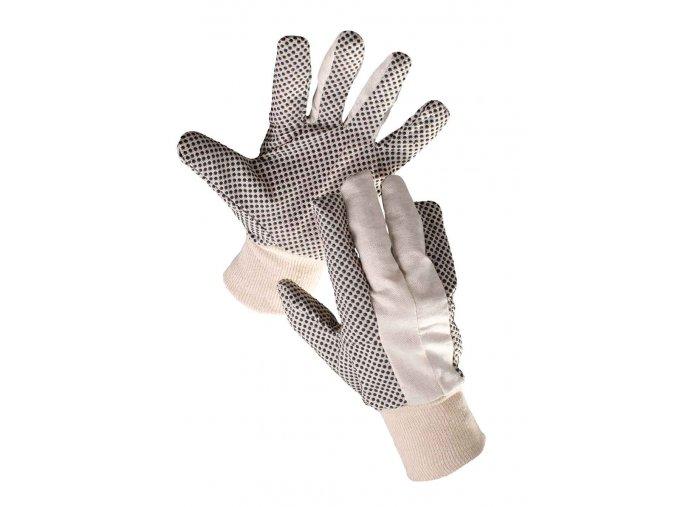 Pracovní rukavice textilní šité povrstvené OSPREY