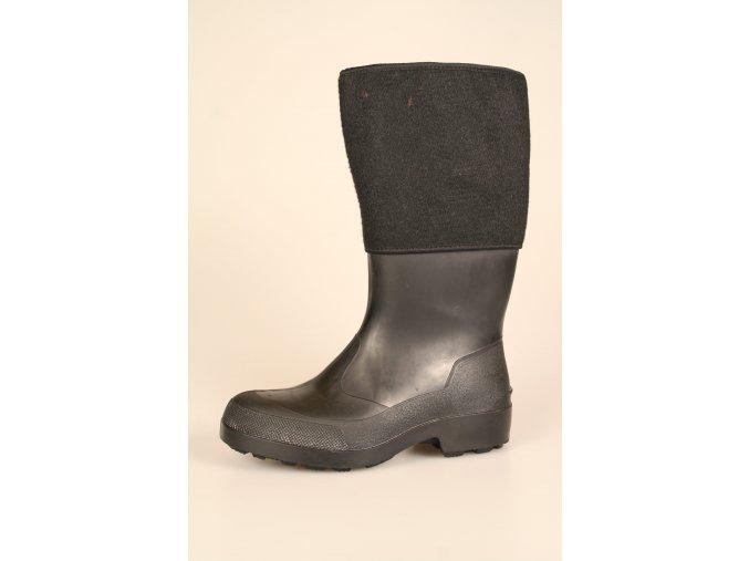 Gumofilcová obuv