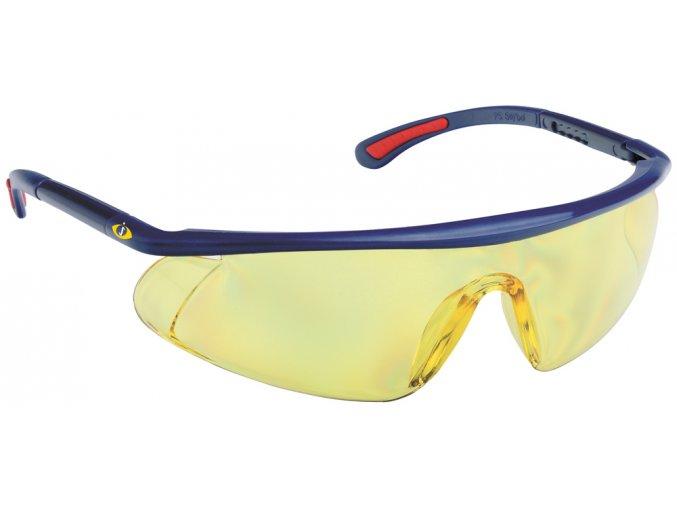Ochranné brýle BARDEN žluté