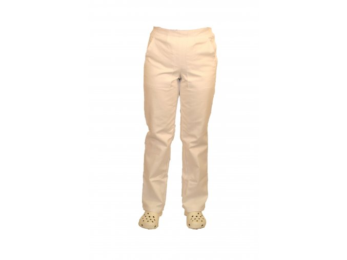 Kalhoty dámské lékařské bílé 470.01