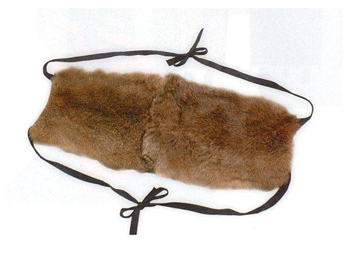 Ledvinový pás kožešinový