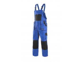 Montérkové kalhoty s laclem EMIL LUX modro-černá
