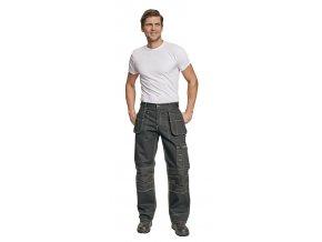 Montérkové kalhoty do pasu NARELLAN černá