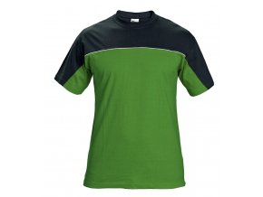Triko s krátkým rukávem STANMORE zelená/černá