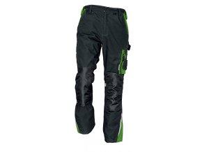 Kalhoty ALLYN černá-zelená