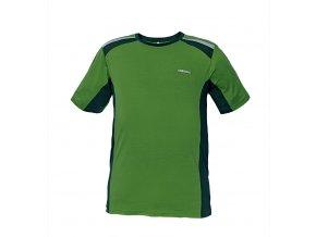 Tričko s krátkým rukávem ALLYN zelená
