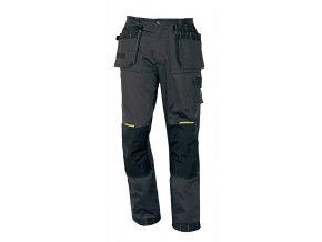 Montérkové kalhoty do pasu OLZA šedá