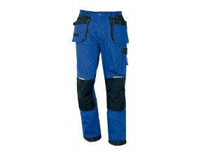 Montérkové kalhoty do pasu OLZA královská modrá