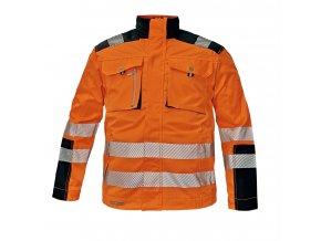 Reflexní bunda ALLYN HV oranžová