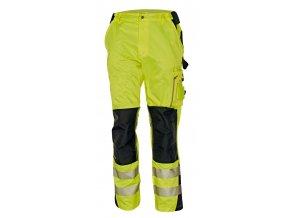 Reflexní kalhoty do pasu ALLYN HV žlutá