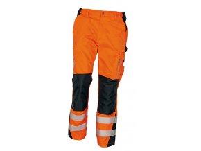 Reflexní kalhoty do pasu ALLYN HV oranžová