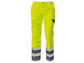 Kalhoty do pasu reflexní COLYTON NEW žlutá