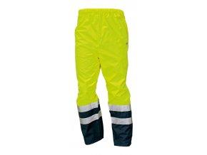 Kalhoty do pasu reflexní EPPING NEW žlutá-modrá