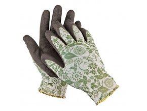 Pracovní rukavice bezešvé nylonové PINTAIL zelená
