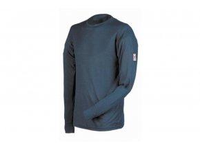 Tričko s dlouhým rukávem LION zimní termoprádlo navy modrá