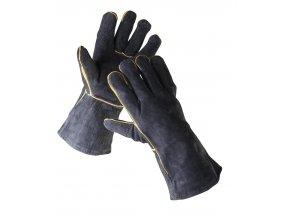 Pracovní rukavice celokožené SANDPIPER svářečské typ A