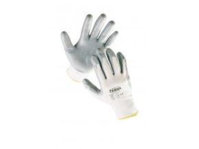 Pracovní rukavice pletené máčené BABBLER