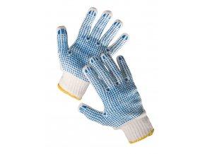 Pracovní rukavice pletené povrstvené QUAIL