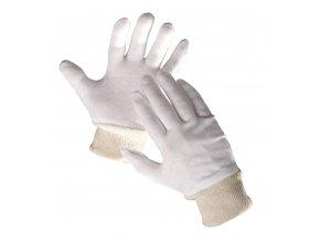 Pracovní rukavice textilní šité TIT