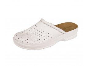 Pantofle bílé TARUCA OB