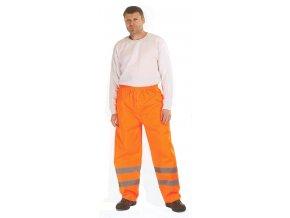 Reflexní nepromokavé kalhoty GORDON oranžové