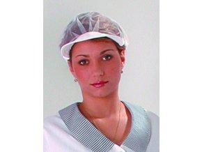Čepice pro kuchařky-síťka s kšiltem