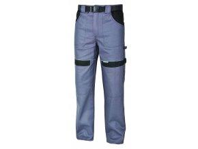 Montérkové kalhoty do pasu COOL TREND na 194 cm šedá/černá