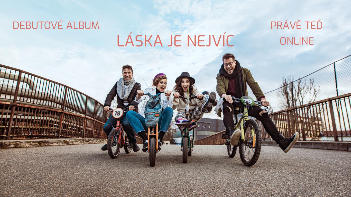 ALBUM LÁSKA JE NEJVÍC ONLINE