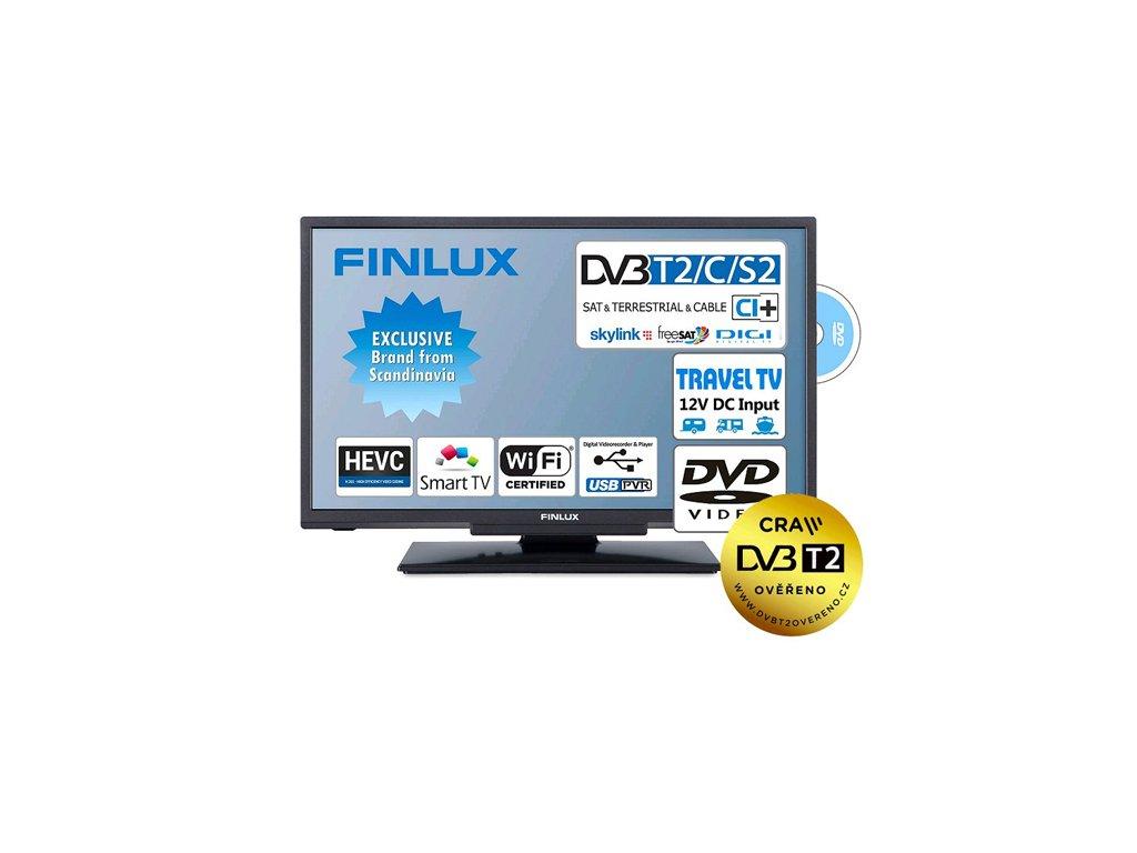 Finlux 24FDMF4760 T2 SAT DVD 12V 01