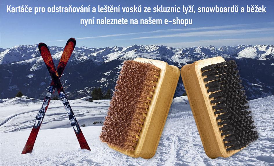 Kartáče na lyže
