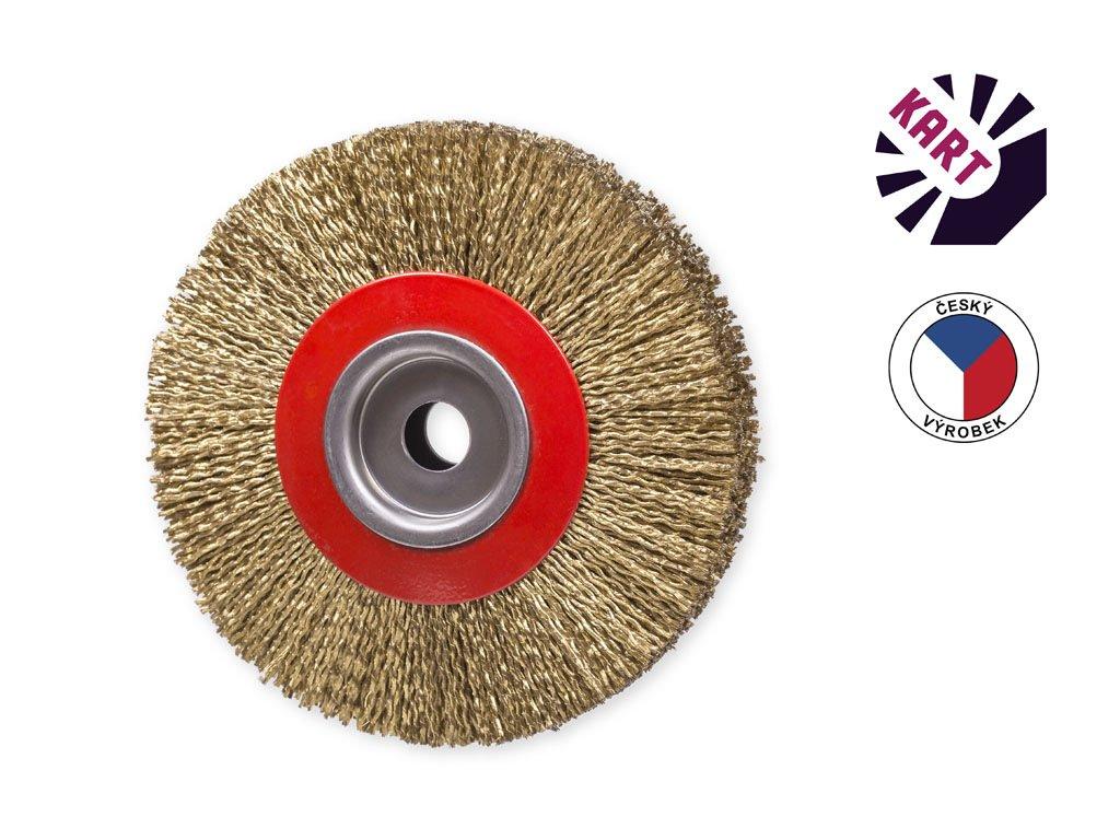 Kotoučový kartáč ø 150 mm - kordový drát