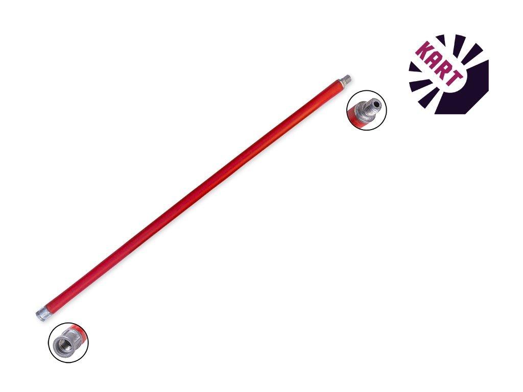 Plastový prodlužovací nástavec - 1,4m - červený