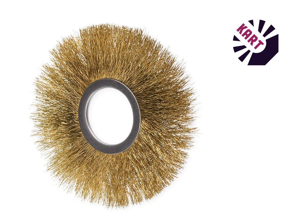Drátěný kroužek ø 60 mm - mosaz
